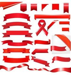 Red Set vector image