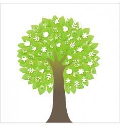tree symbol vector image vector image
