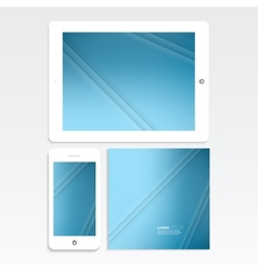 Abstract background for your digital devices vector image