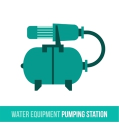 Flat icon water equipment vector