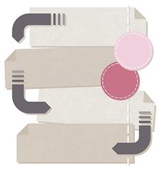 Label inforgraphics set vector image