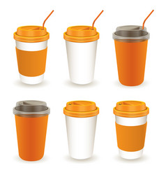 paper cup 06 vector image