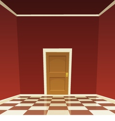 Room Door vector