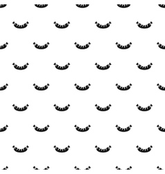 Sausage pattern simple style vector image