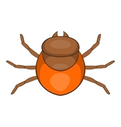 Tick icon cartoon style vector