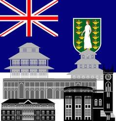 Virgin Islands vector