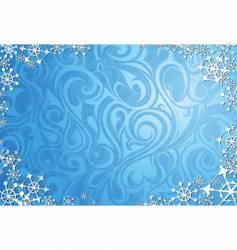 Window frost vector