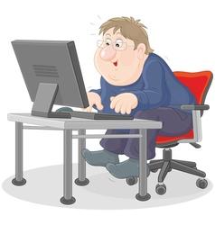 Computer user vector