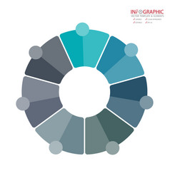abstract element infographics 7 option design for vector image
