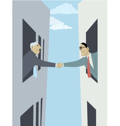 Business-to-business vector image