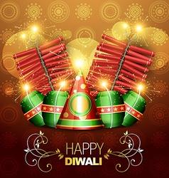 Diwali cracker vector