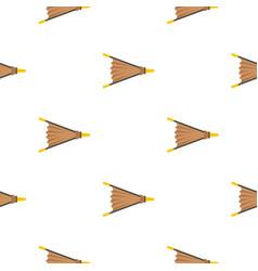 Fire bellows pattern flat vector