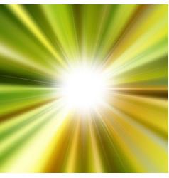 Flare bright shiny star vector