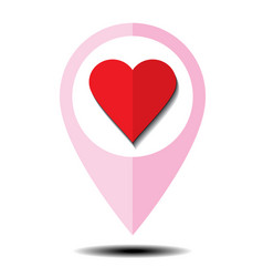 heart love 05 vector image