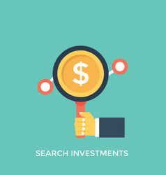 Search investment vector