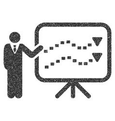Trends Presentation Grainy Texture Icon vector