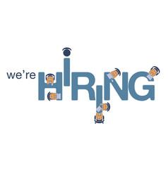 Were hiring vector