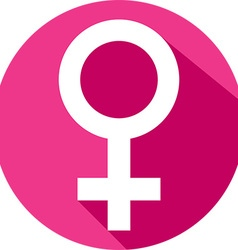 Female gender icon vector