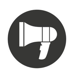 speaker sound silhouette icon vector image