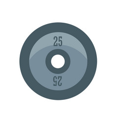 a barbell vector image