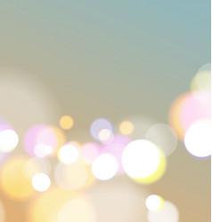 Abstract bokeh light background vector