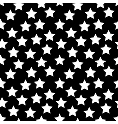 Colored Star Hypnotic Background Seamless Pattern vector image vector image