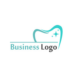 Dental care logo and symbols template vector