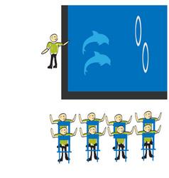 Dolphinarium vector
