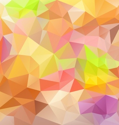 Pastel colors abstract polygon triangular pattern vector