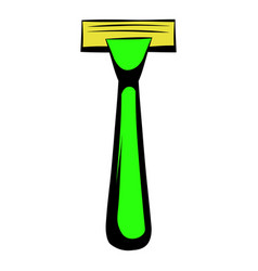 shaving razor icon icon cartoon vector image