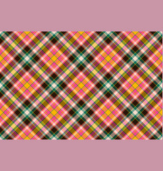 tartan scotland seamless plaid pattern retro vector image