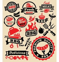 barbecue grill party vector image vector image