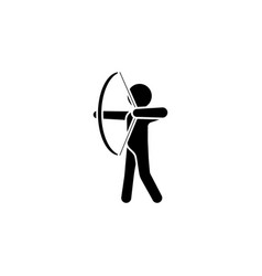 archer icon vector image