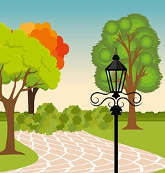 City park design vector