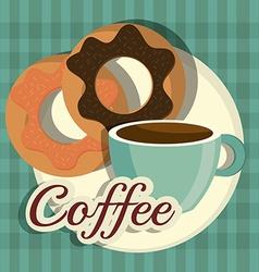 Coffee digital design vector