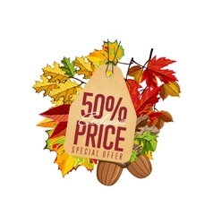 Exclusive price label Special offer vector