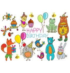 hedge birthday vector image