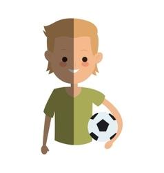kid cartoon icon vector image