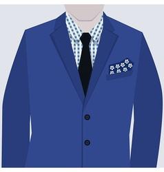 Men suit vector