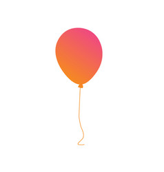 Pastel gradient pink to orange gathering event vector