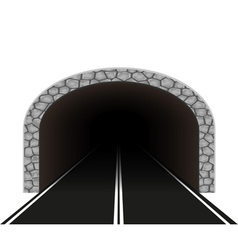 Road tunnel 01 vector