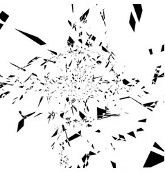 Rough and edgy abstract monochrome texture random vector