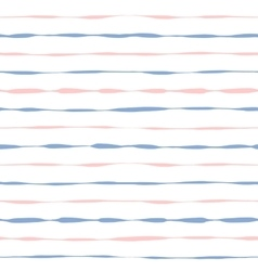 Seamless background grunge pink and blue stripes vector