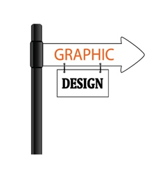 sign graphic design vector image