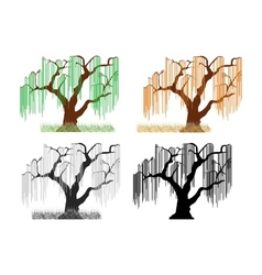 trees3 vector image