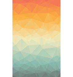 Vertical Polygonal Abstract Wallpaper vector image