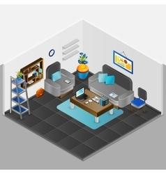 Room Interior Design vector image