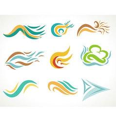Natural Art Icon vector image