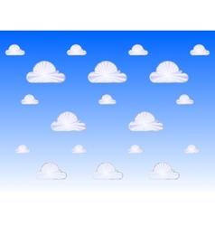 cloud metal icon vector image vector image