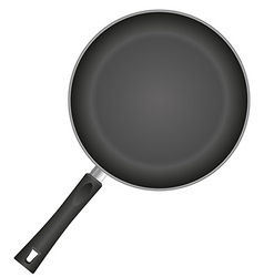 frying pan 01 vector image